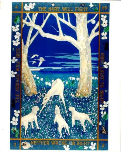 hounds and deer